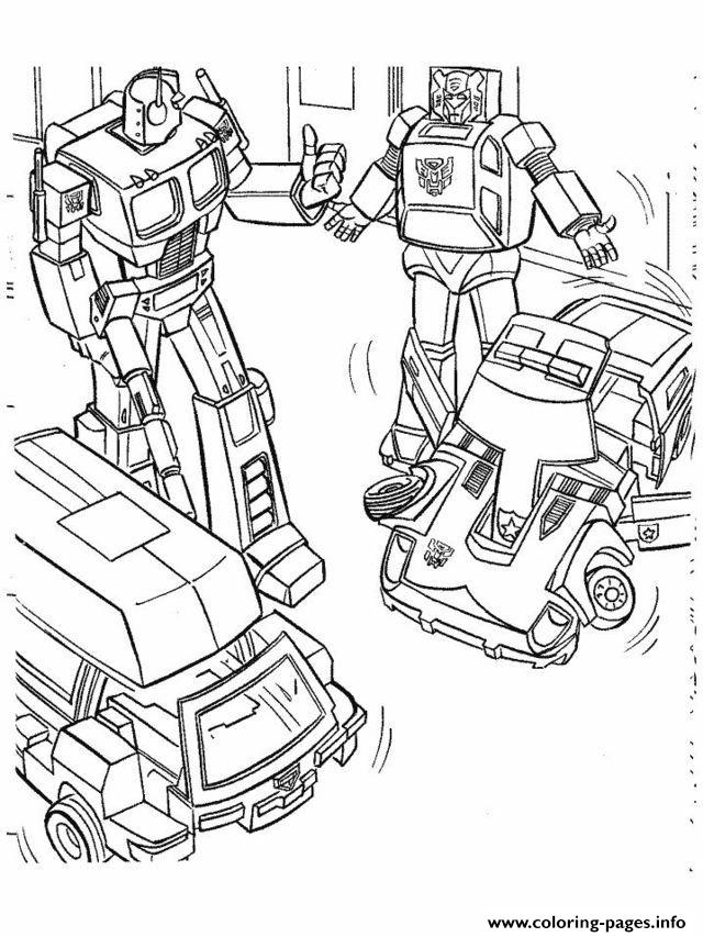 Transformers 224  coloring pages