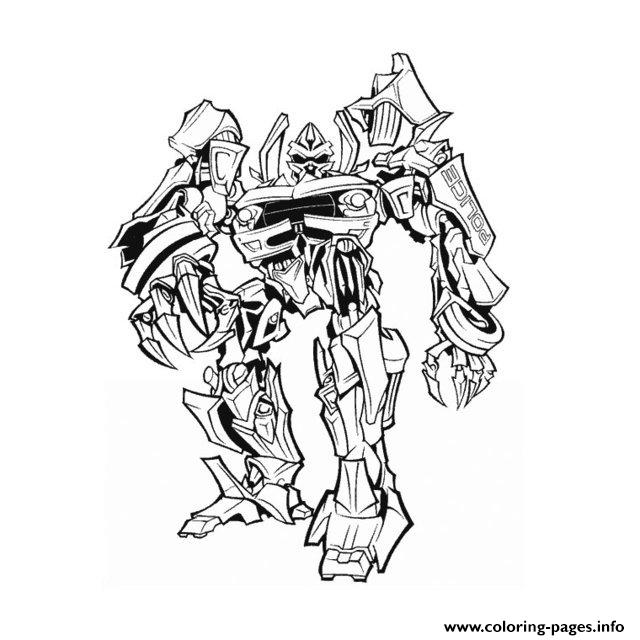 Transformers 3 Coloring Pages Printable