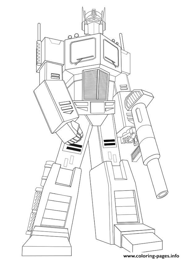 Transformers Iron Hide Color To Print A4 Coloring Pages
