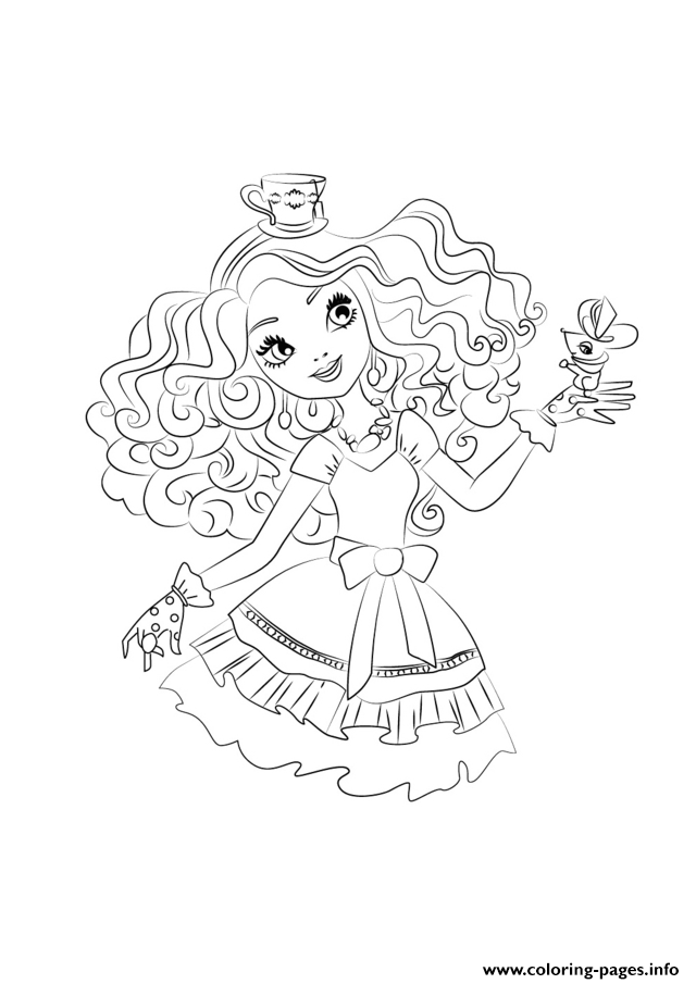 Ever After High 5 Coloring Pages