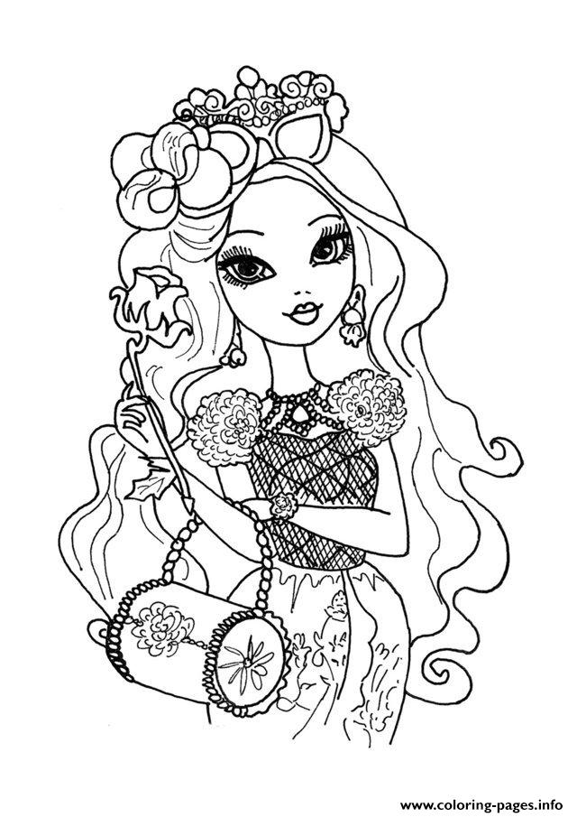 Ever After High Dolls 7 Coloring Pages Printable