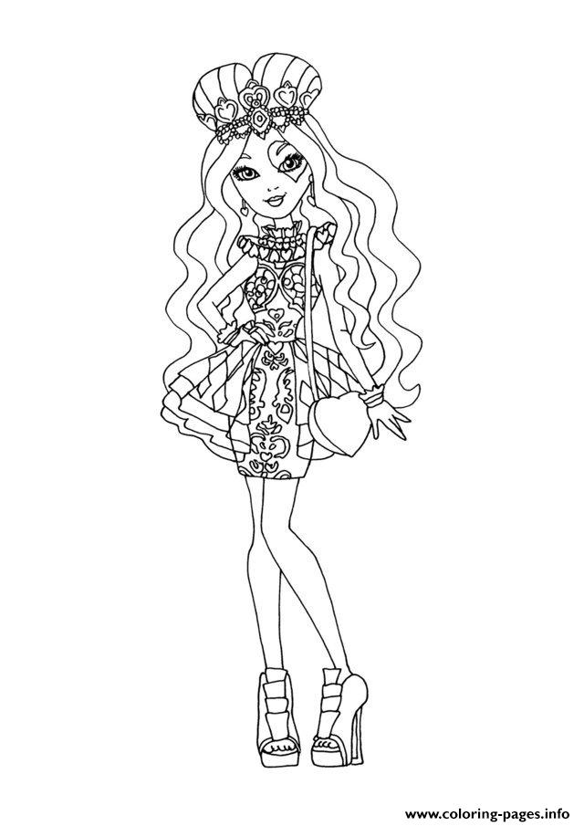 Ever After High Dolls 9 coloring pages