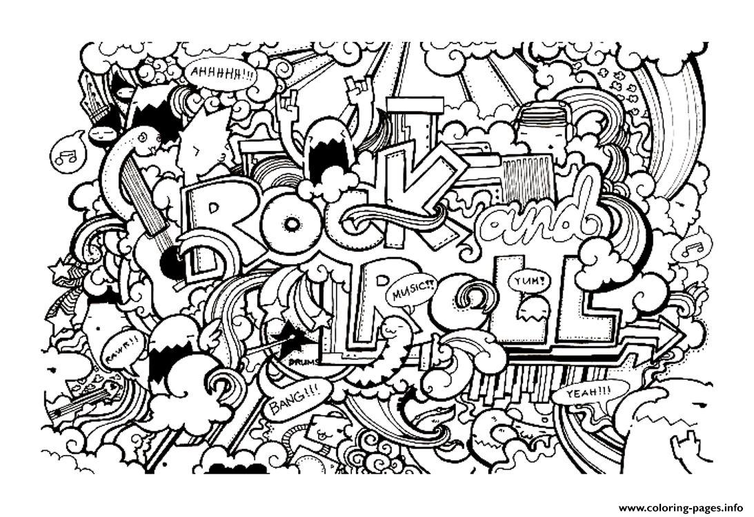 adult doodle art doodling 8 coloring pages