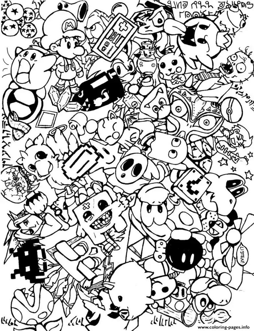 printable doodlebop coloring pages - photo#27
