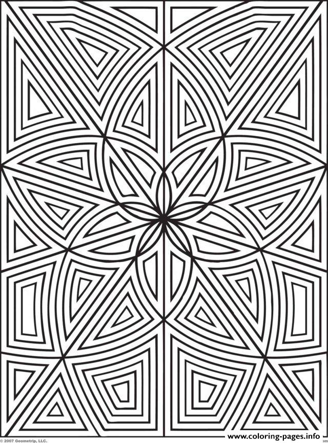 Adult Zen Anti Stress Maze Zen Flowers  coloring pages