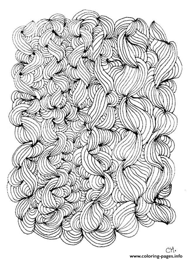 Adult Zen Anti Stress Cathym5  coloring pages