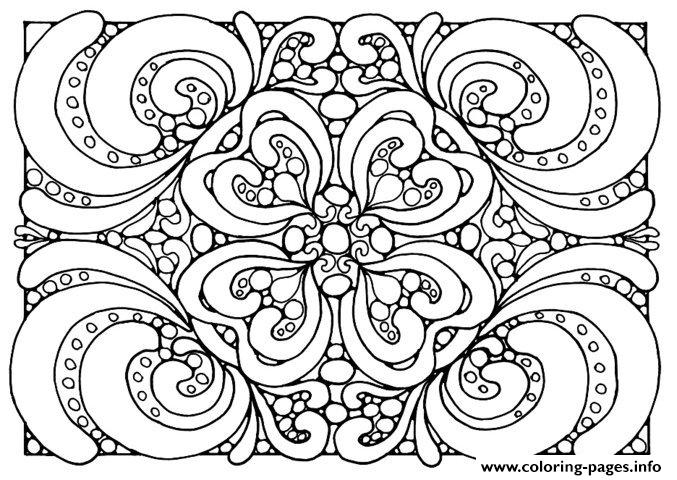 zen anti stress adult patterns  coloring pages