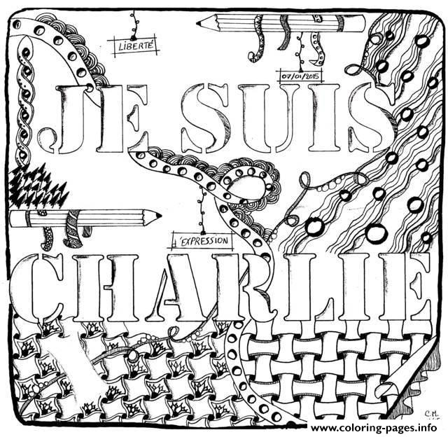 Je Suis Charlie Cathym17  coloring pages