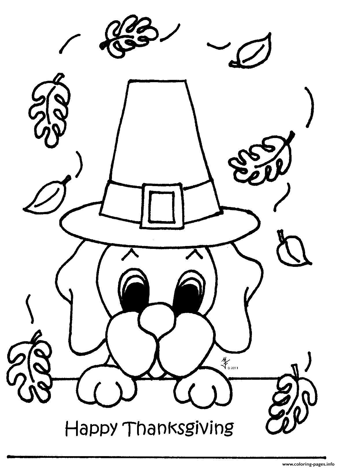 November Thanksgiving Coloring Pages Printable