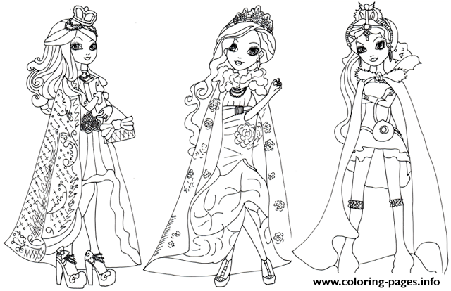Cedar Wood Ever After High Coloring Pages