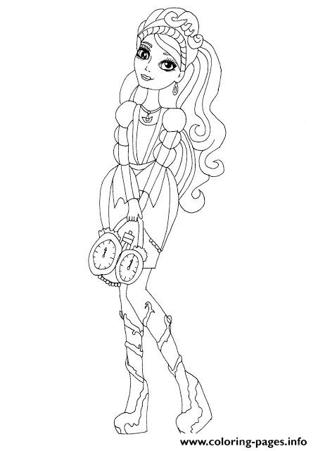 Princess Ever After High coloring pages