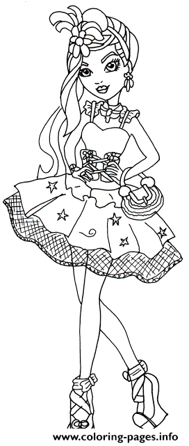 Duchess Swan Ever After High coloring pages