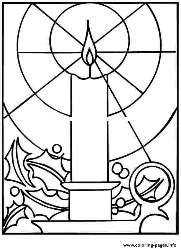 Christmas LightsPrintable 1 coloring pages