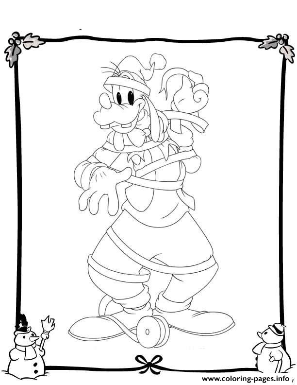 Disney Christmas 39 coloring pages