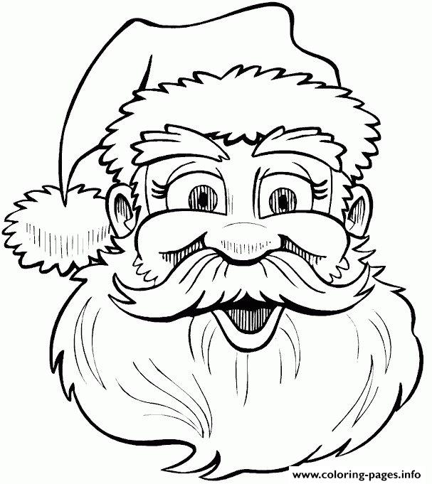 Christmas Santa Claus 24 coloring pages