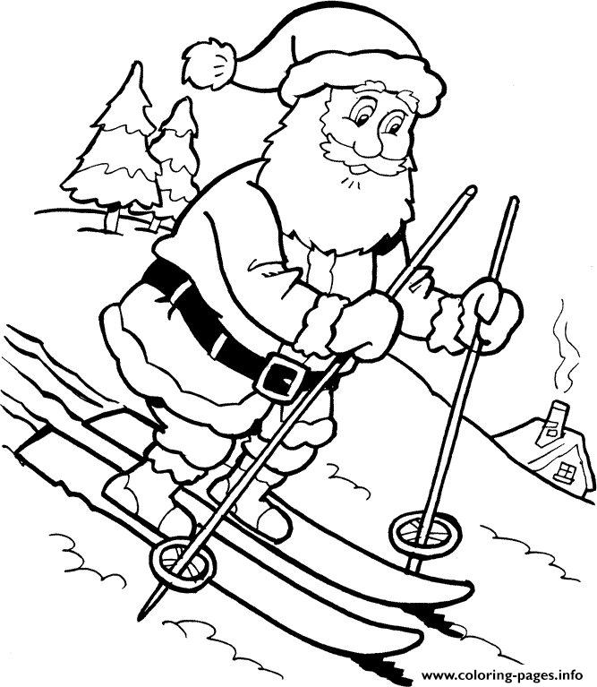 Christmas Santa Claus 40 coloring pages