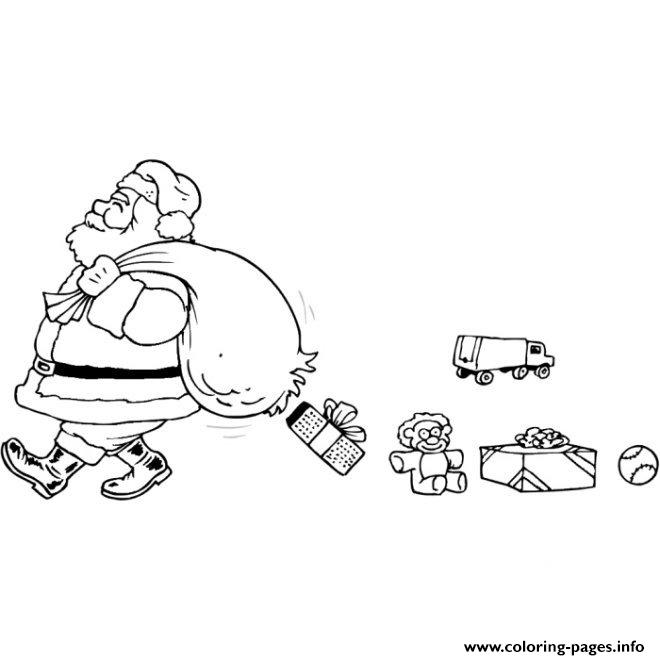 Christmas Santa Claus 57 coloring pages