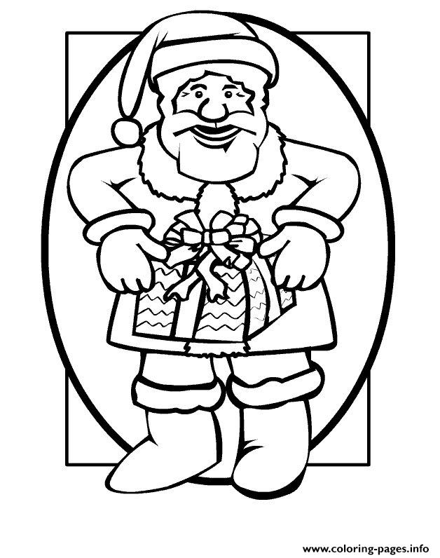 Christmas Santa Claus 70 coloring pages