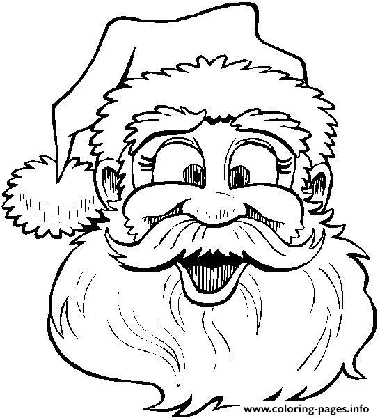 Funny Christmas Santa Claus 05 coloring pages