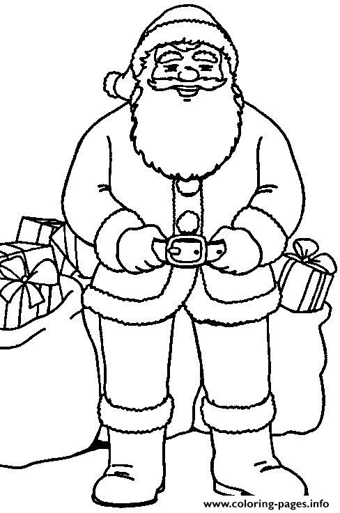 Christmas Santa Claus 18 coloring pages