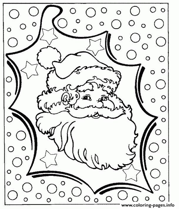 Christmas Santa Claus 03 coloring pages