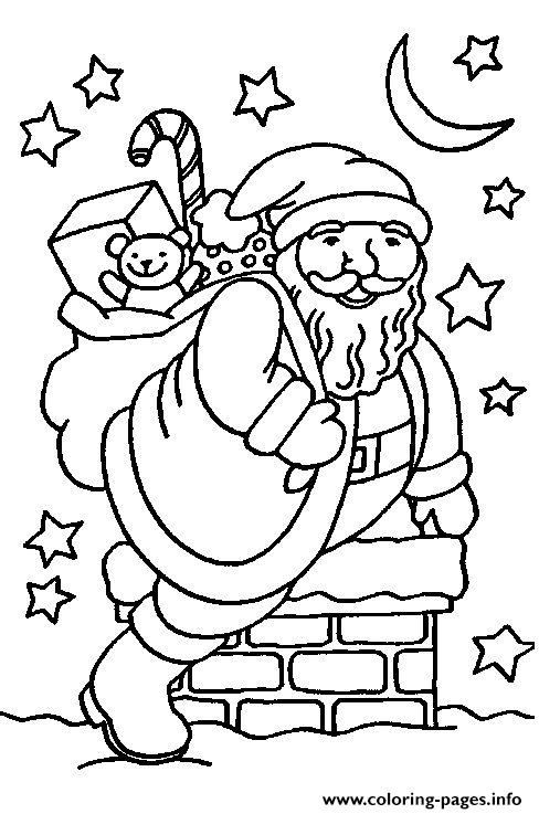 Christmas Santa Claus 15 coloring pages
