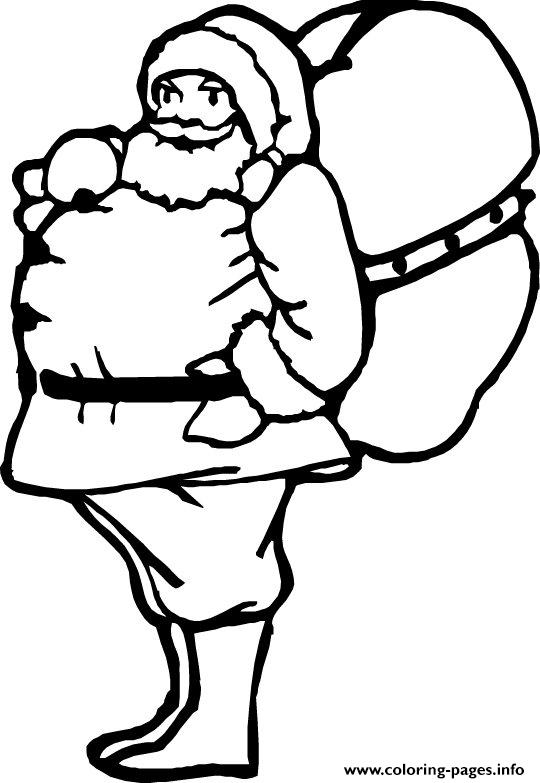 Christmas Santa Claus 62 coloring pages