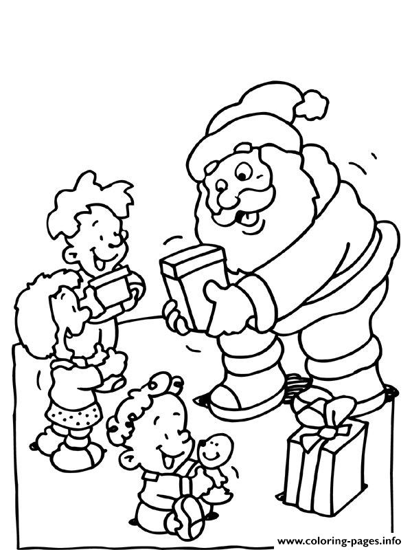 Christmas Santa Claus 72 coloring pages
