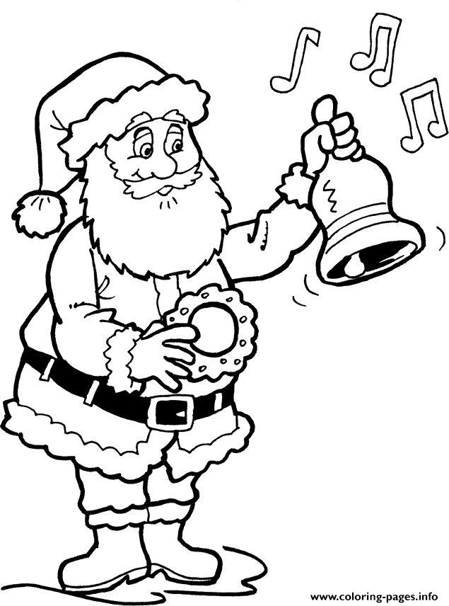 Christmas Santa Claus For Children 36 Coloring Pages Printable