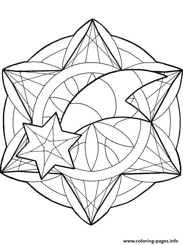Mandala Christmas 34 coloring pages