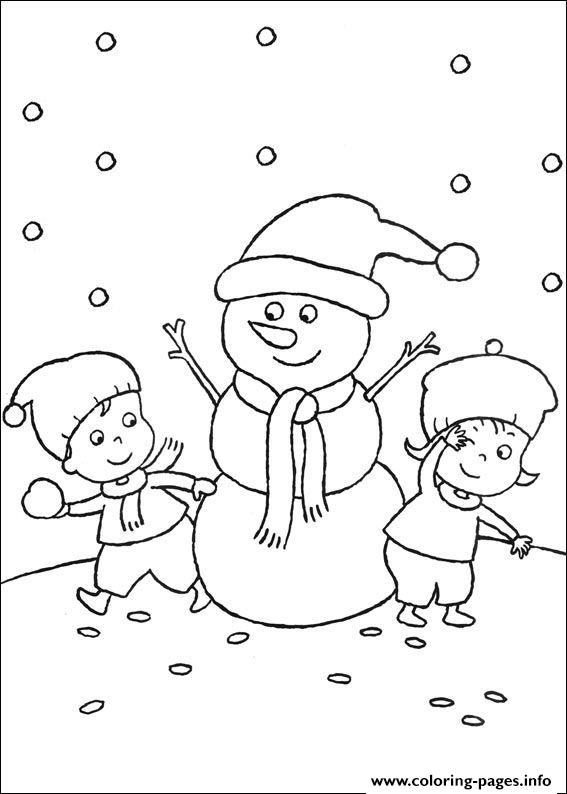 Christmas For Kids 04 coloring pages