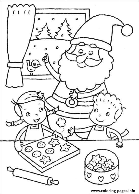 Christmas For Kids 24 coloring pages