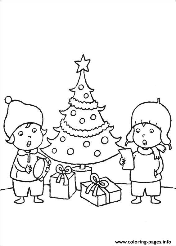 Christmas For Kids 09 coloring pages