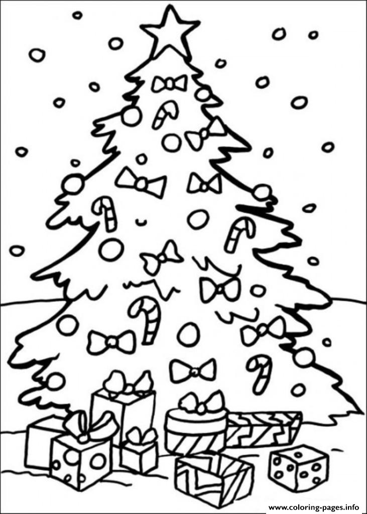 dora the explorer christmas tree s6f85 coloring pages
