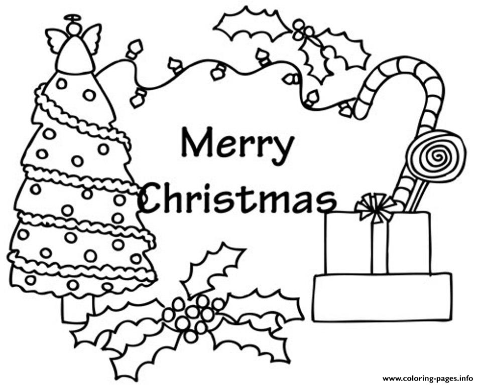 Presents And Tree Free S For Christmas C9f3 Coloring Pages