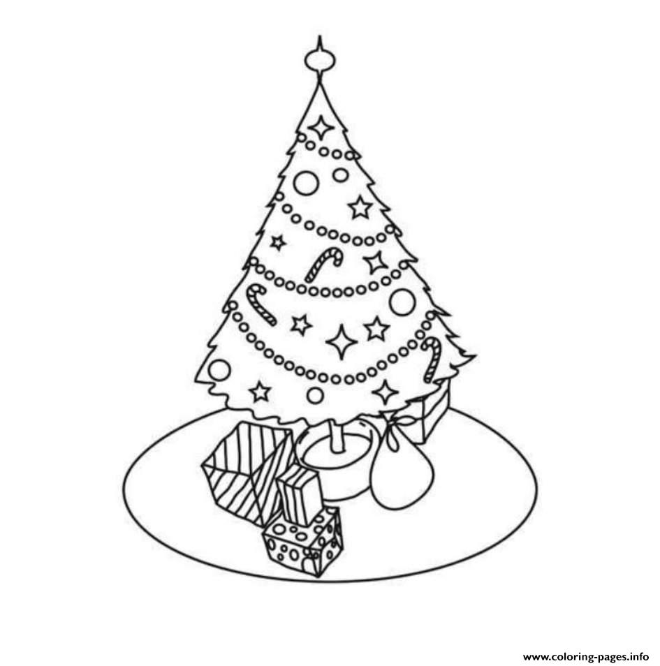 Simple Christmas Tree S For Kids Printable70af coloring pages