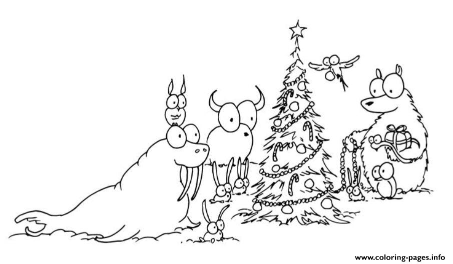 Free S Christmas Tree Dec7 coloring pages