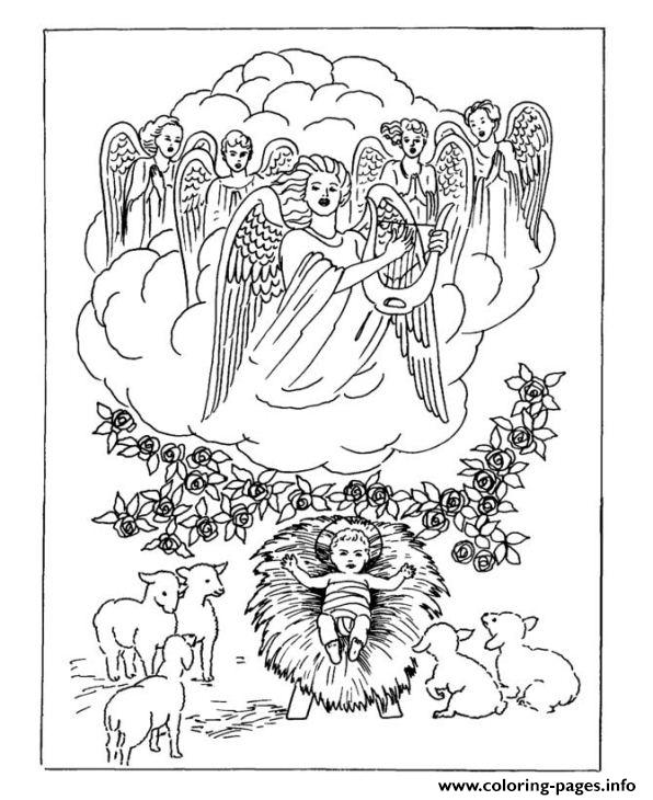 Christmas Adults Traditional 11 coloring pages