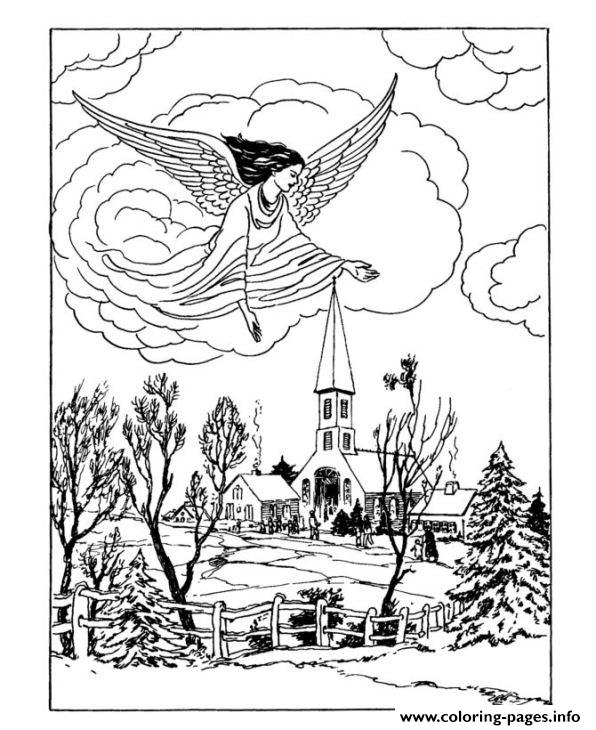 Christmas Adults Traditional 14 coloring pages