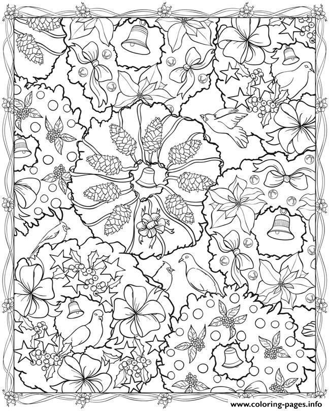 Adult Christmas 791874 039 coloring pages
