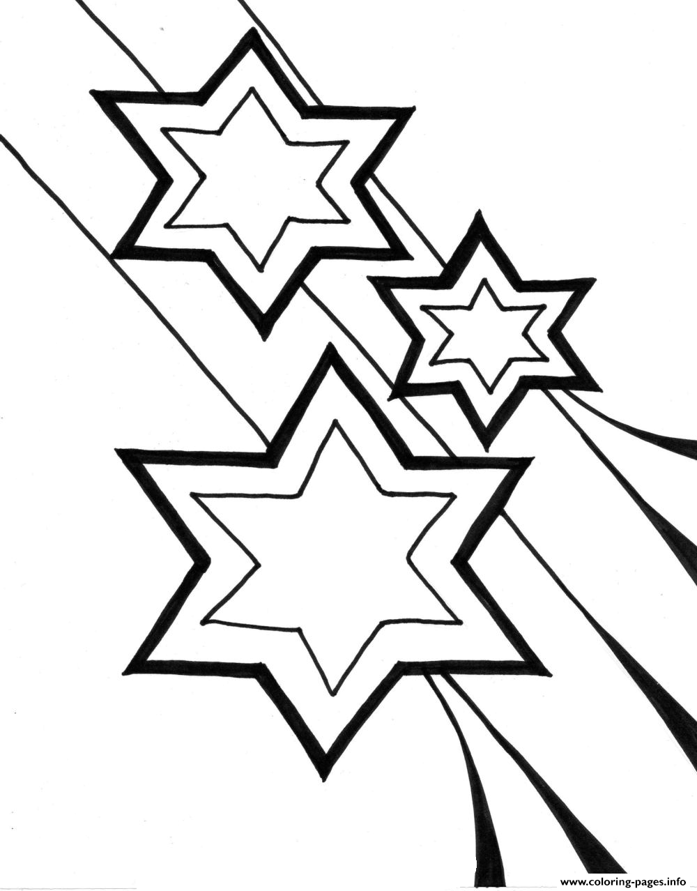 christmas stars to print coloring pages - Printing Coloring Books