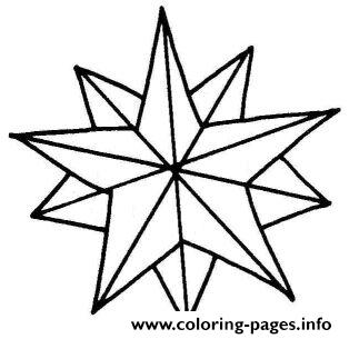photo regarding Christmas Star Printable referred to as Clip Artwork Xmas Star Coloring Webpages Printable