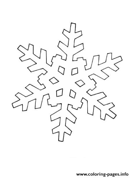 Christmas Snowflake 2 coloring pages