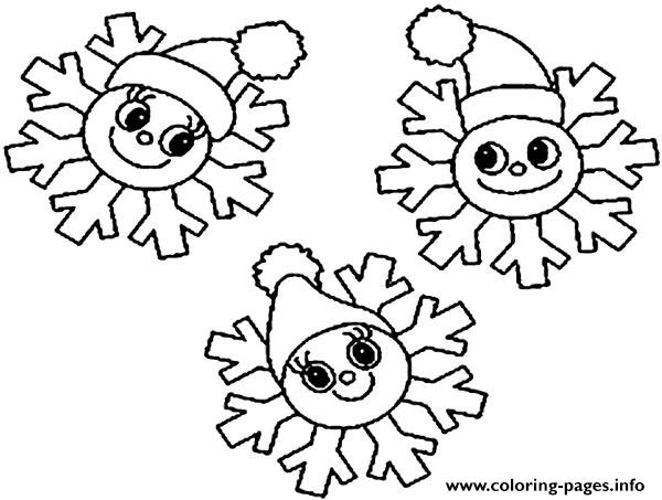 christmas snowflake coloring pages - Snowflake Coloring Pages