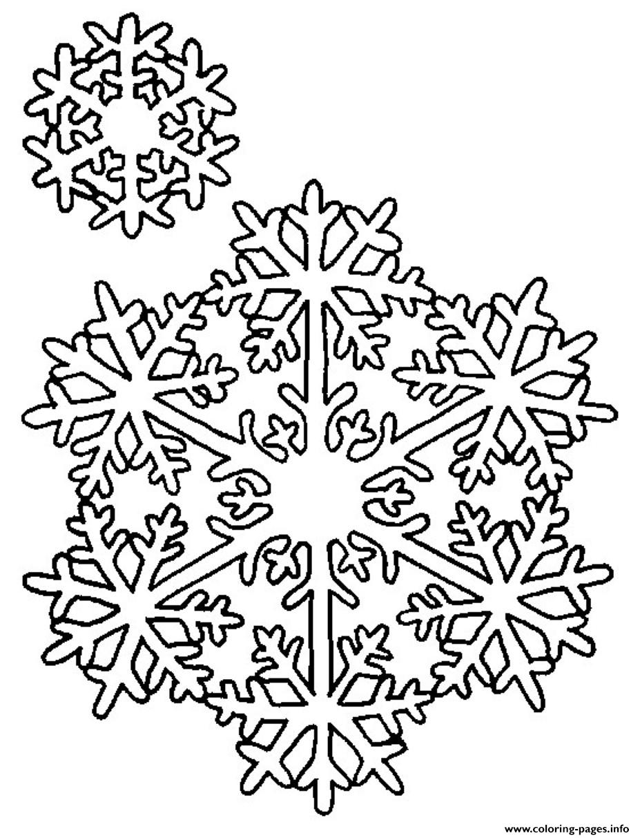 Snowflake S2e13 coloring pages