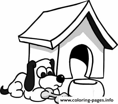 Hungry Dog  Free48e8 coloring pages