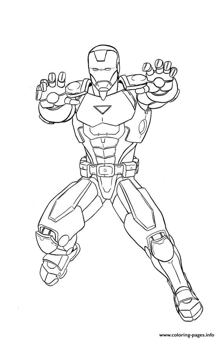 Marvel Iron Man Sdfa6 coloring pages
