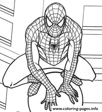Marvel Spiderman S6035 coloring pages