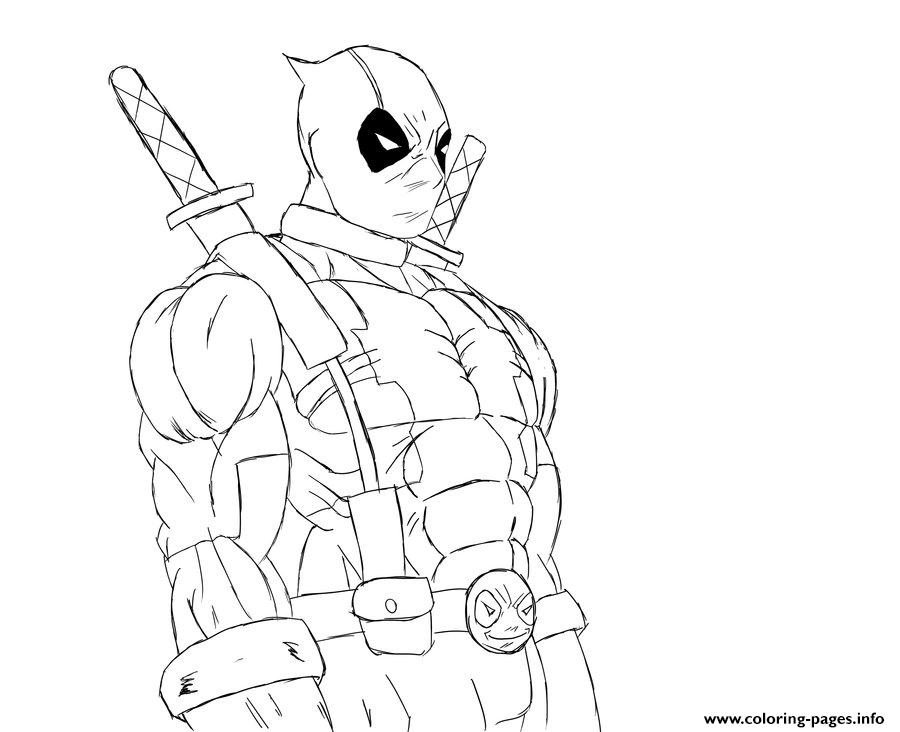 Lego Marvel Coloring Pages To Download And Print For Free: Deadpool Marvel Coloring Pages Printable