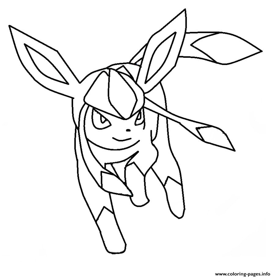Mega Pokemon Eevee Coloring Pages Printable